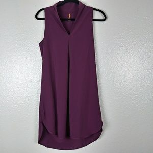 Lucy Dresses - Lucy Burgundy Sleeveless Dress. Small